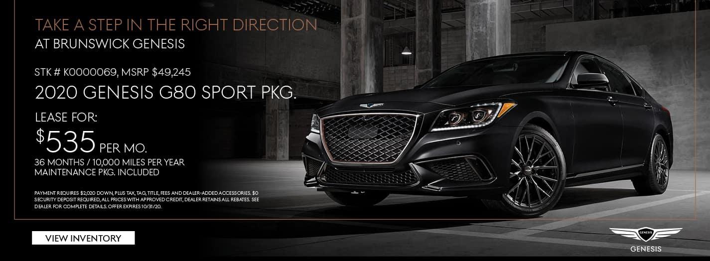 g80 sport pkg