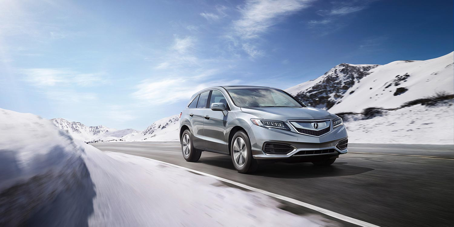 2017 Acura RDX Exterior Winter Front