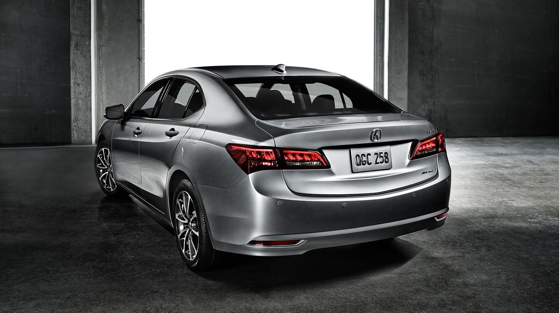 2017 Acura TLX Exterior Rear Angle