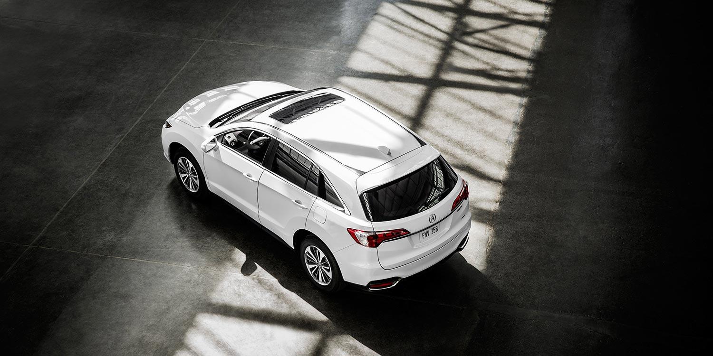 2017 Acura RDX Exterior Overhead Angle