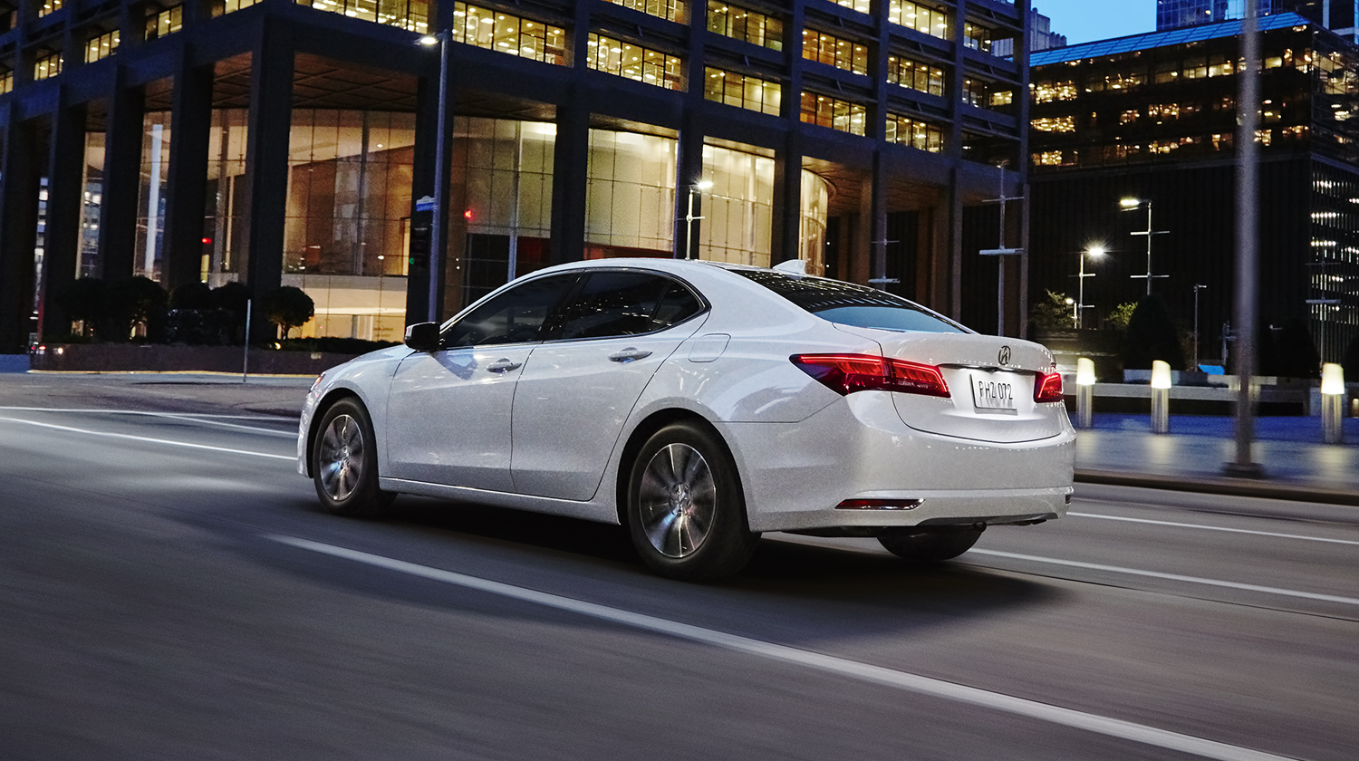 2017 Acura TLX Exterior White Night