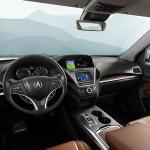 2017 Acura MDX Interior Front Cabin