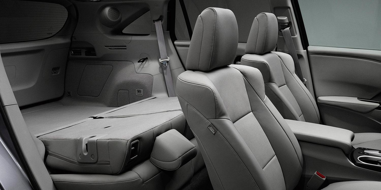 2017 Acura RDX Folding Rear Seatbacks