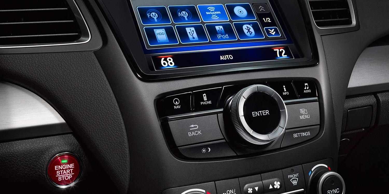 2017 Acura RDX On Demand Multi-Use Display