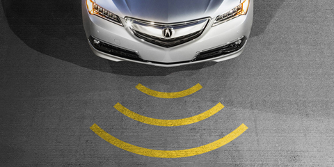 2017 Acura TLX Collision Mitigation Braking System