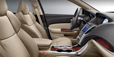 2017 Acura TLX Front Seats