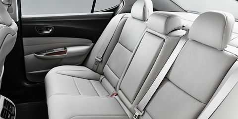 2017 Acura TLX Rear Seating