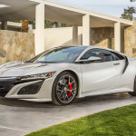 2017 Acura NSX Exterior Front Angle