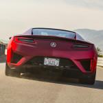 2017 Acura NSX Exterior Rear Angle
