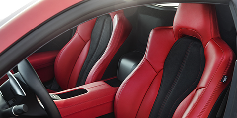 2017 Acura NSX Milano Leather Seats