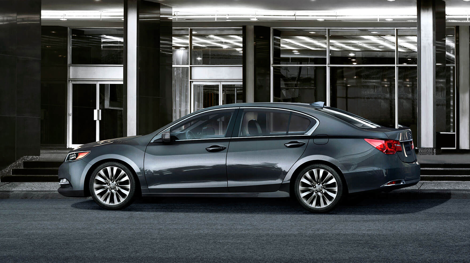 2017 Acura RLX Exterior Side Profile