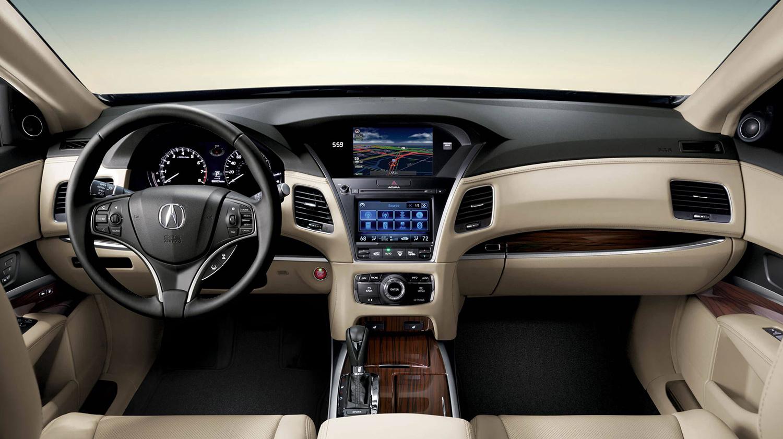 2017 Acura RLX Interior Front Cabin
