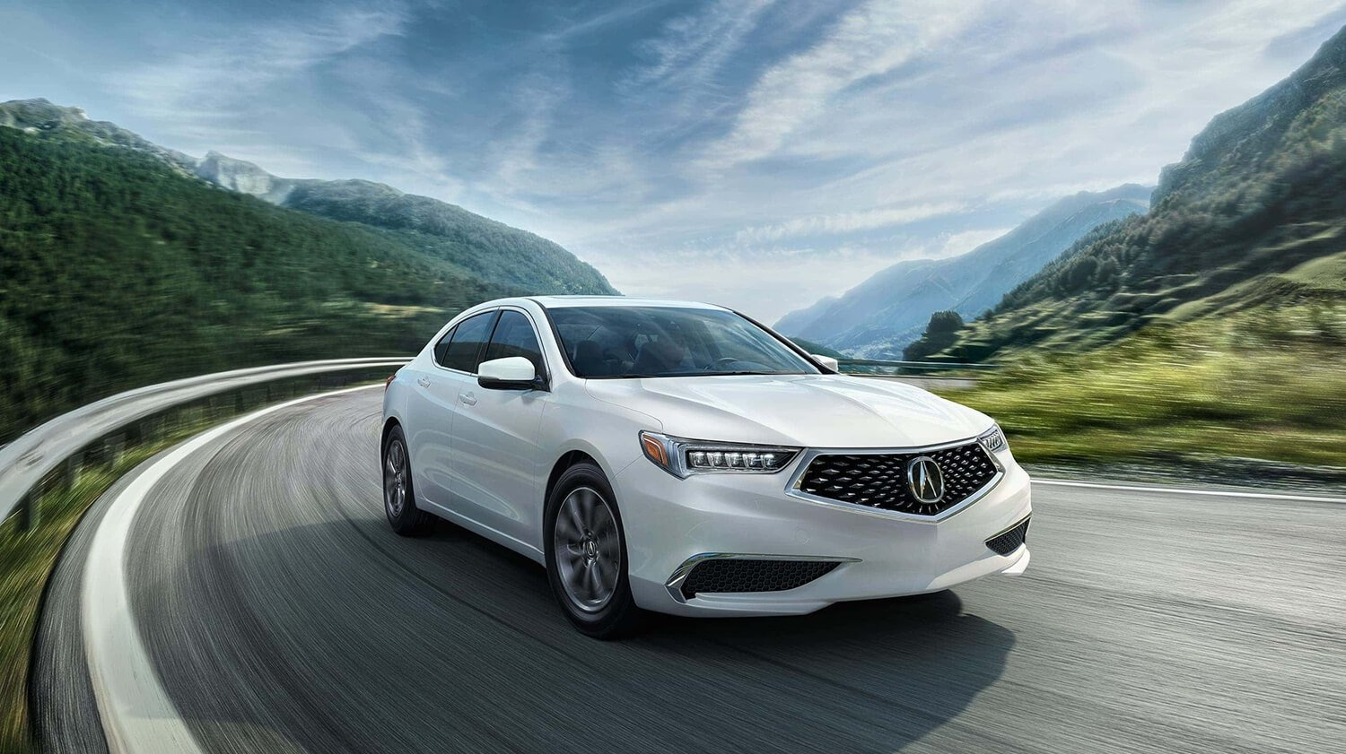 2018 Acura TLX Exterior Front Passenger Side Drive