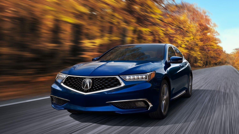 2018 Acura TLX Exterior Autumn Blue