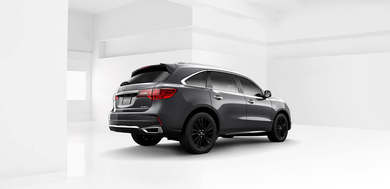 2018 Acura MDX Exterior Rear Angle Passenger Side