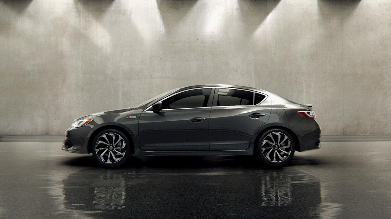 2018 Acura ILX Exterior Side Profile Driver Side