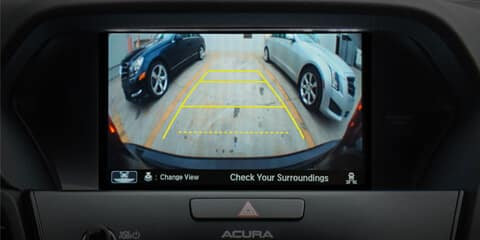 2018 Acura ILX Multi-View Rearview Camera