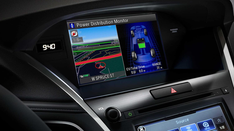 2018 Acura RLX Interior Navigation System