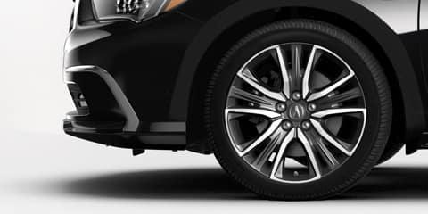 2018 Acura RLX Contrast Wheels