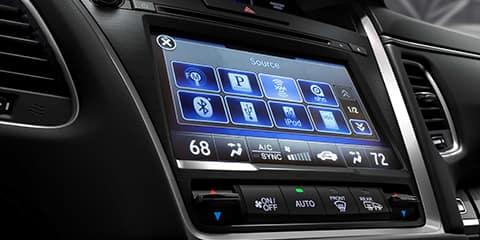 2018 Acura RLX On Demand Multi-Use Display