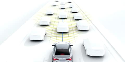 2018 Acura RLX Traffic Jam Assist
