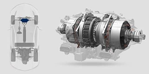 2018 Acura NSX Twin Motor Unit