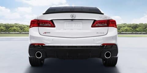 2019 Acura TLX Front and Rear Parking Sensors