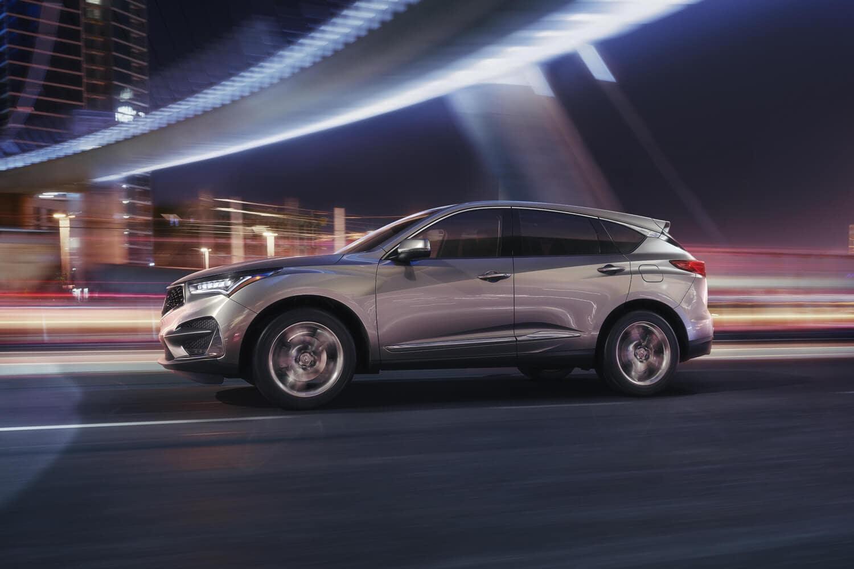 2019 Acura RDX Exterior Side Profile Night