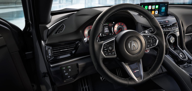 2019 Acura RDX Interior Steering Wheel Closeup