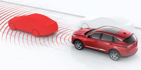 2019 Acura RDX Collision Mitigation Braking System