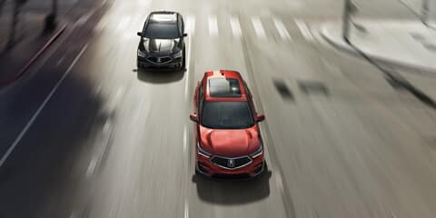 2019 Acura RDX Lane Keeping Assist System