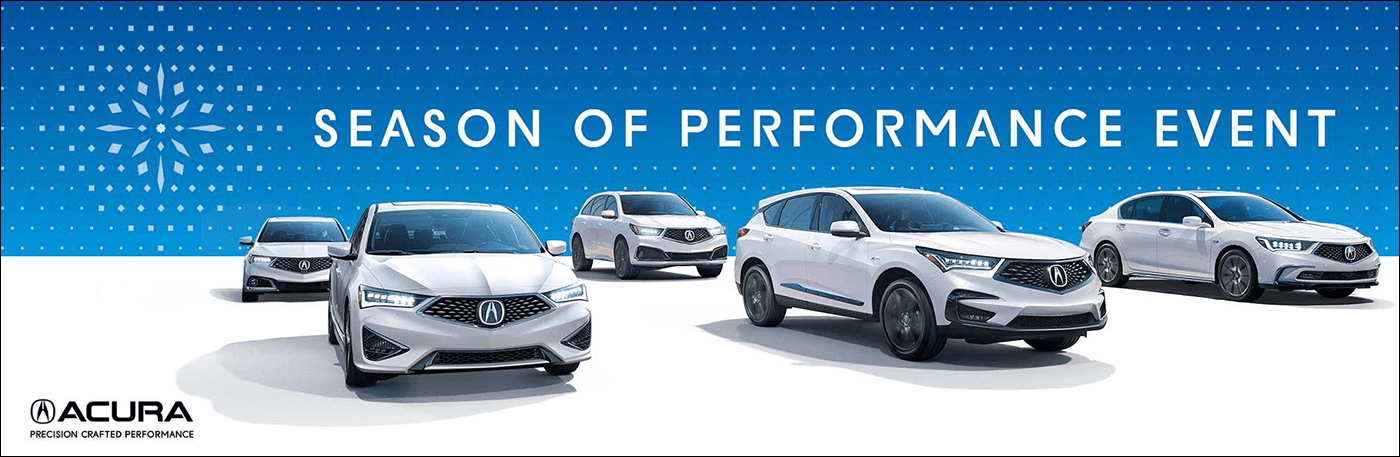 2018 Acura Season of Performance Event from Your Georgia Acura Dealers