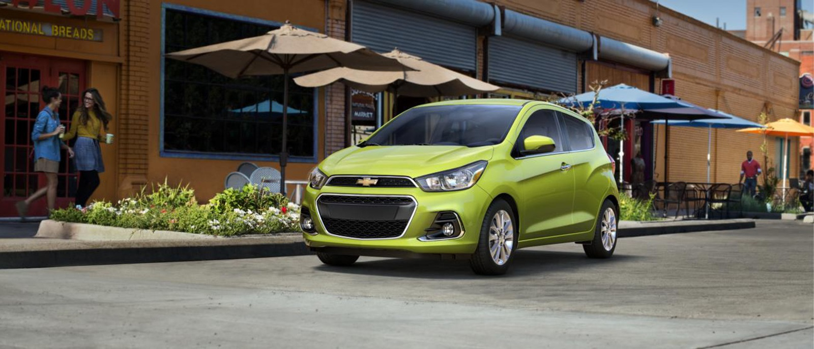 The redesigned 2016 Chevrolet Spark is at Tom Gill Chevrolet