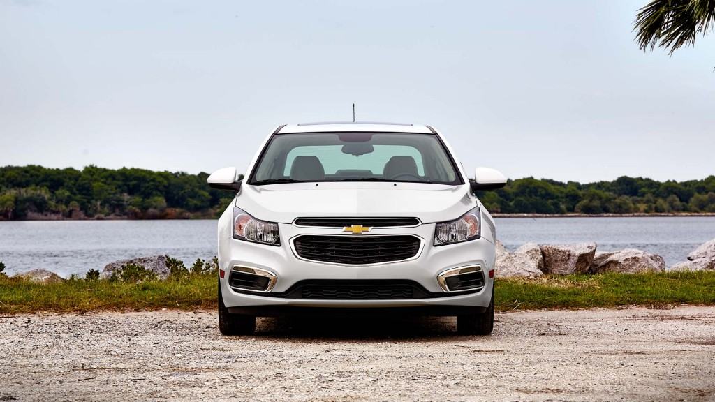 Front of Chevy Cruze