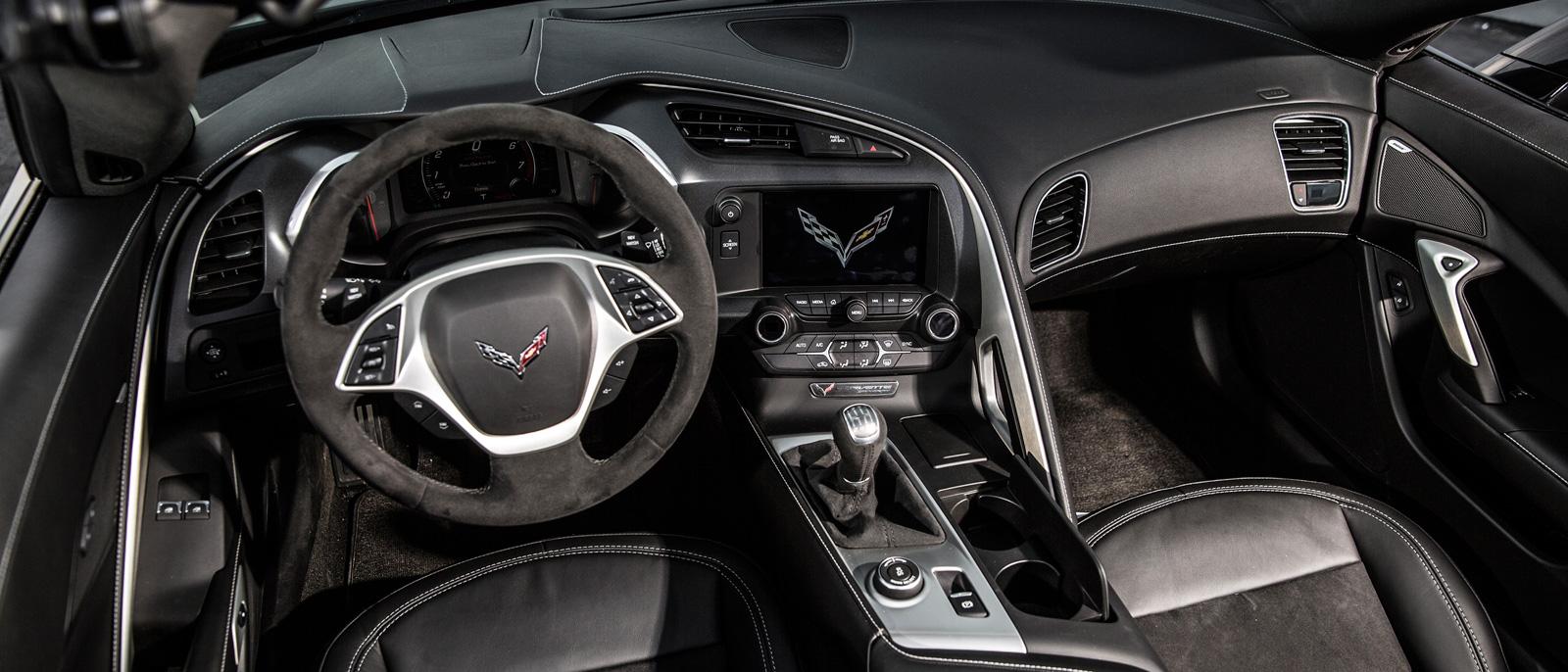 2016 Chevrolet Corvette interior