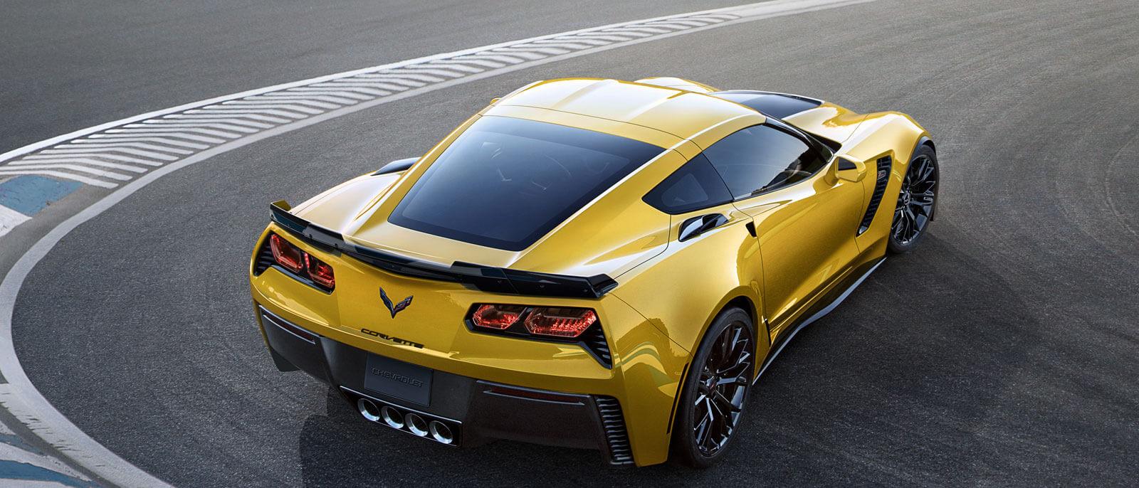 2016 Corvette Z06 rear view