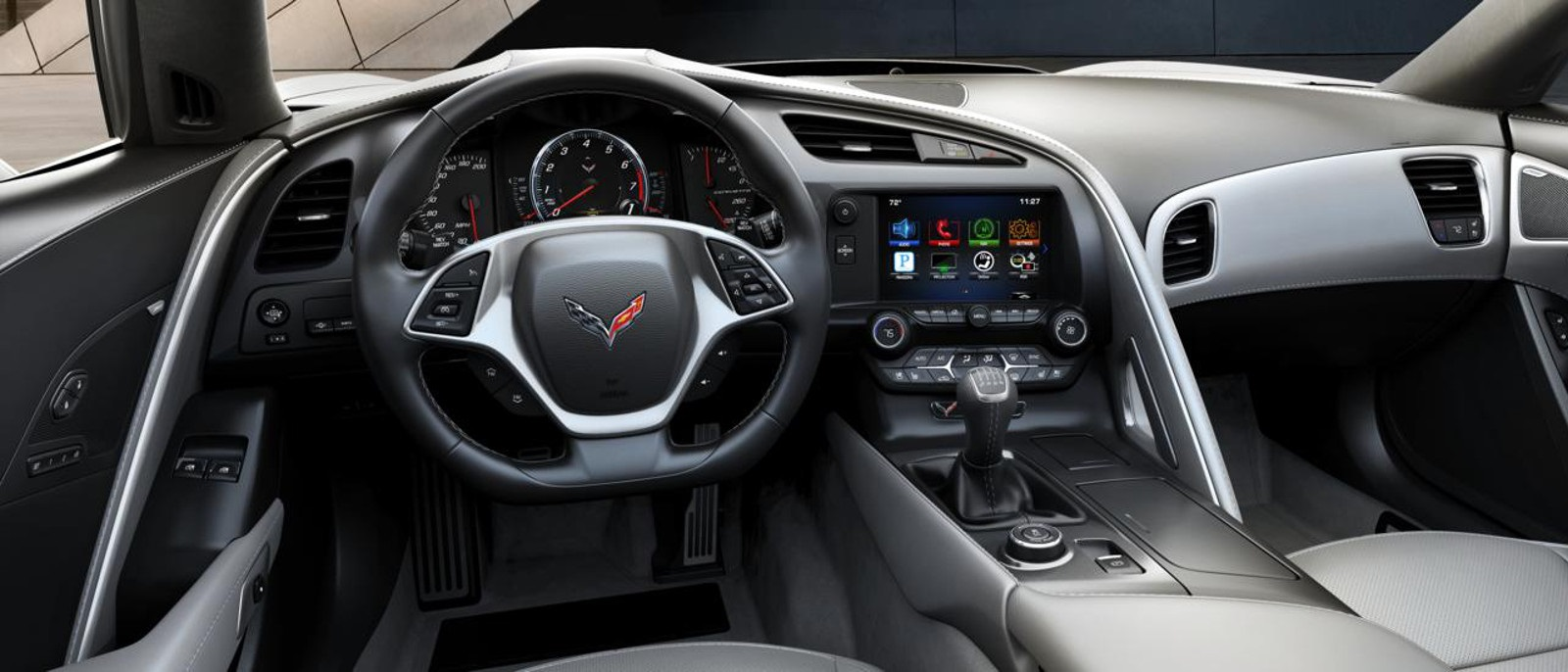 2016 Chevy Corvette Stingray Z51 3LT Coupe Interior