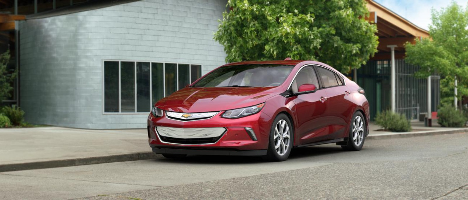 2017 Chevy Volt Red