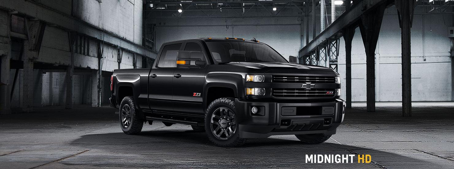 Chevy Blackout Truck >> 2017 Chevrolet Silverado Special Editions