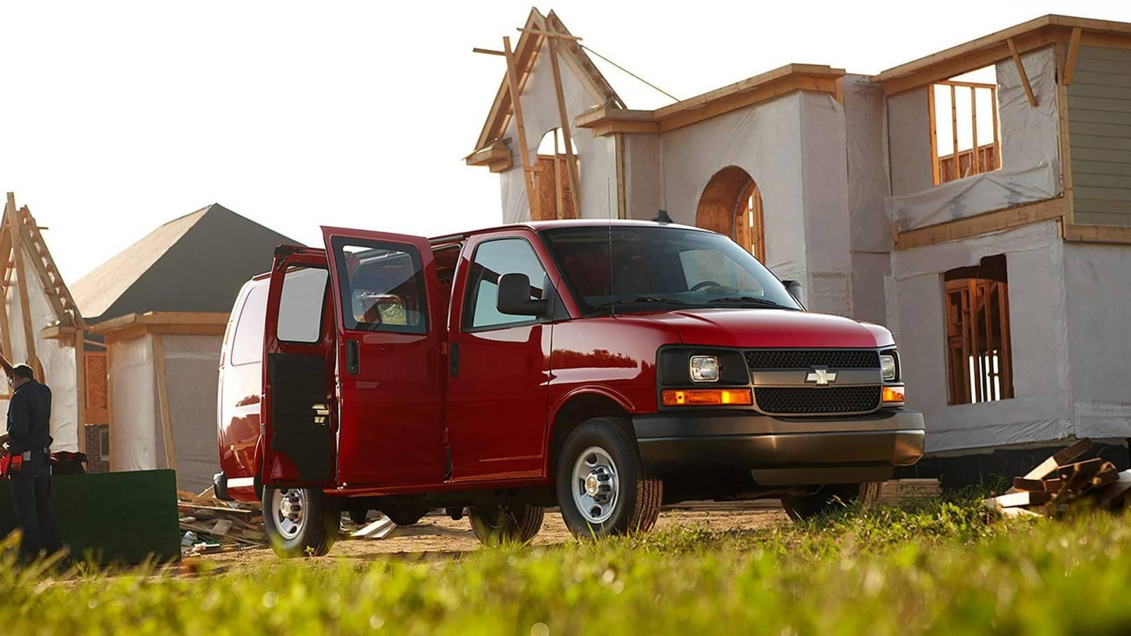2017 Chevrolet Express Cargo Trims and Pricing