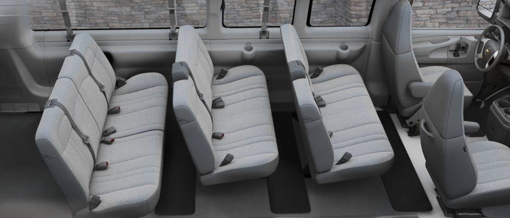 The 2017 Chevrolet Express Cargo Van Safety Features