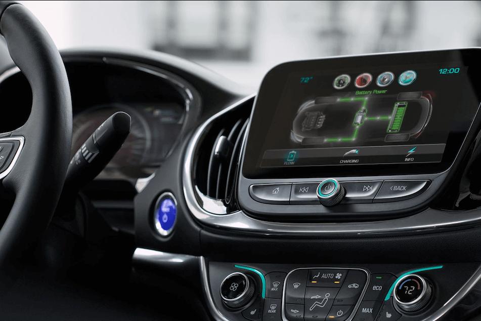 2017 Chevrolet Volt power display