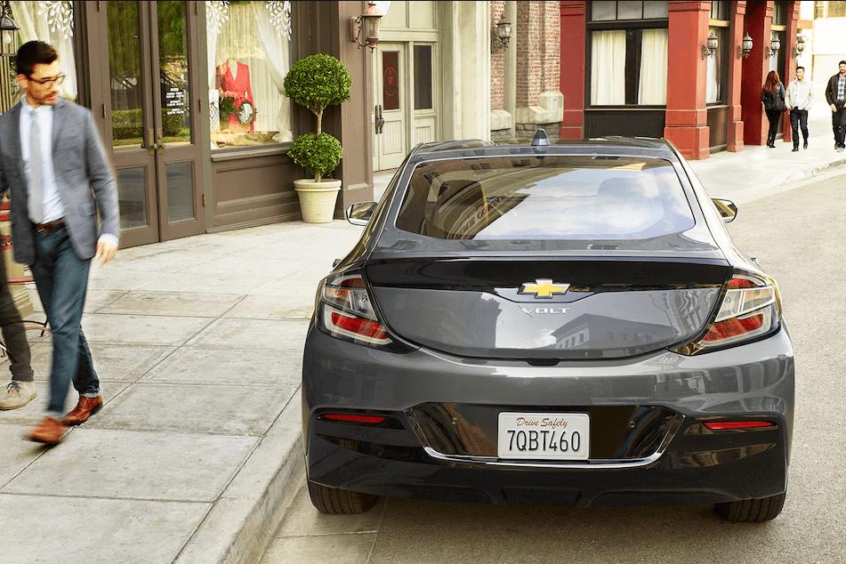 2017 Chevrolet Volt rear exterior
