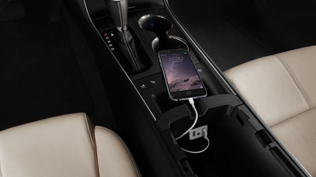 2017 chevy impala interior phone charger