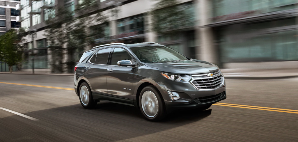 2018 Chevrolet Equinox on road