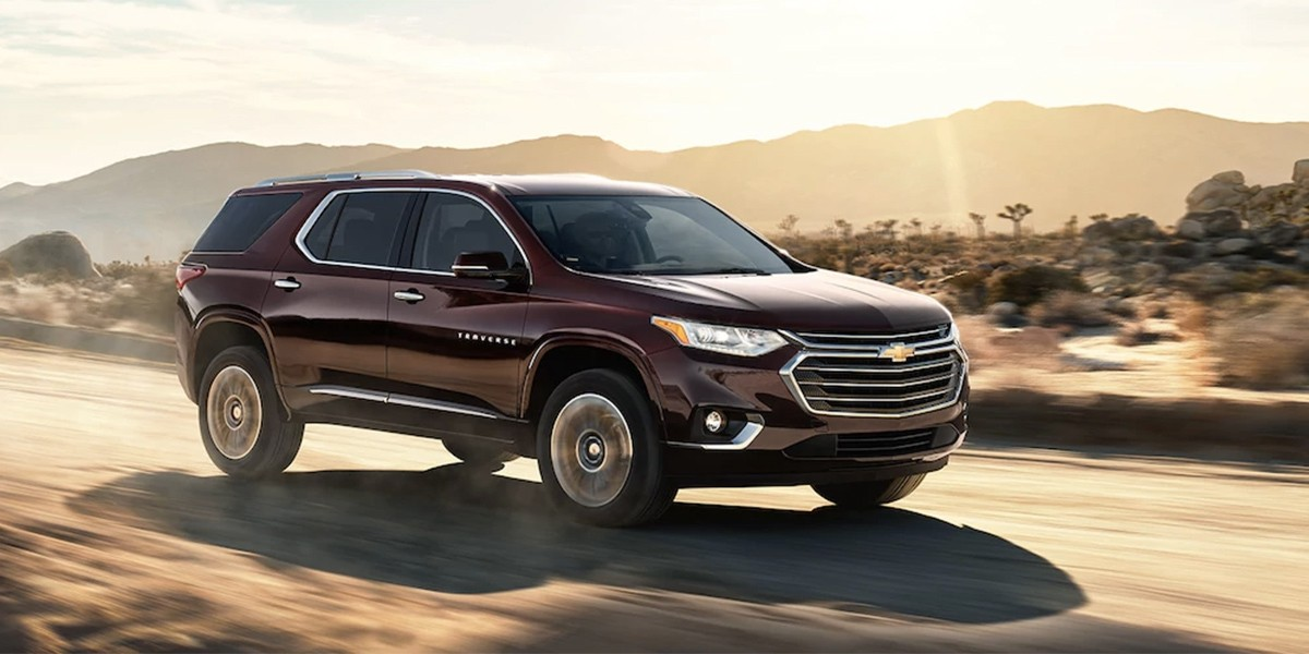 2018 Chevrolet Traverse At Campsite