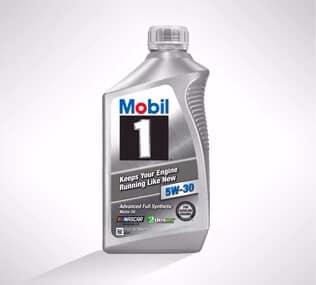 Mobil 1 Full Synthetic Oil