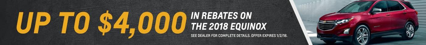 Equinox Rebate (12/2018)