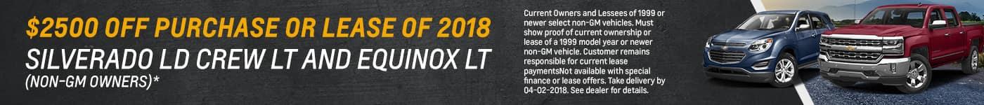 Silverado Equinox Discounts in Florence KY