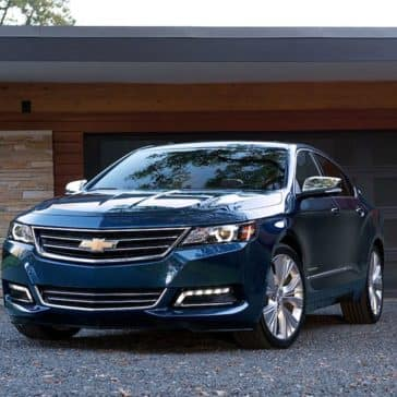 2018 Chevy Impala In Driveway